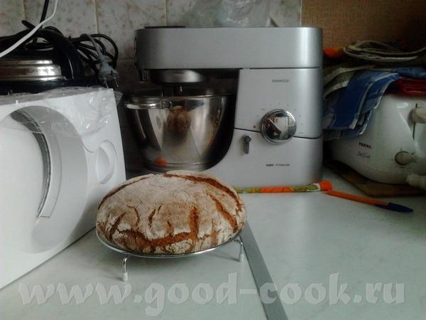 Девочки пришла опять с Житным, рецепт с сайта убрать) Рецепт на 1 хлеб весом примерно 650-700г Гус... - 2