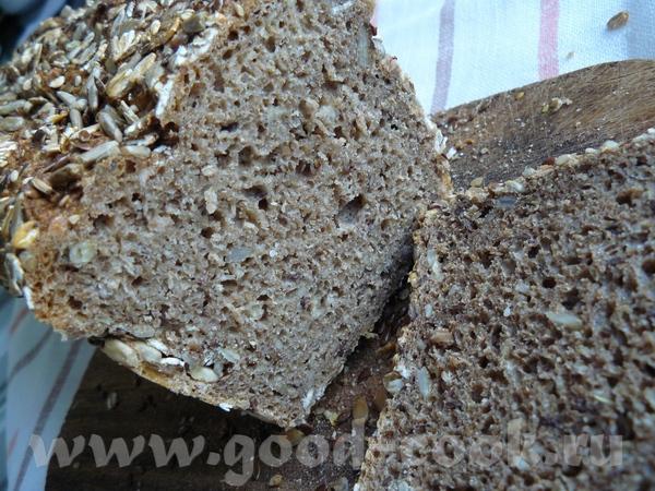 Очень вкусный, сочный и полезный хлеб