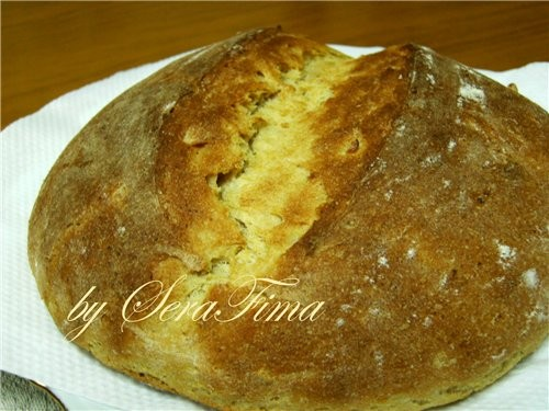 салат с зеленой папайей и огурцом Домашний хлеб с цельнозерновой мукой, кумином и картофелем идею с... - 2
