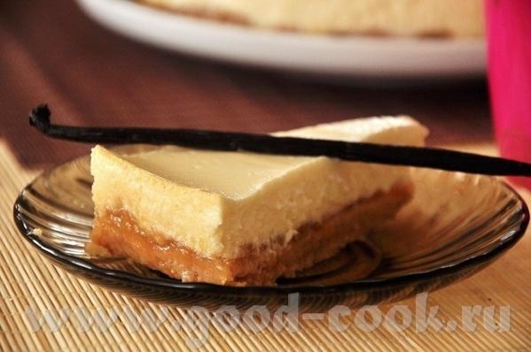 Ванильный чизкейк с грецкими орехами и джемом Тарт-чизкейк с печёными грушами - 2