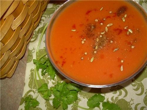 Суп-пюре из Цветной капусты с мятой и тимьяном - 7