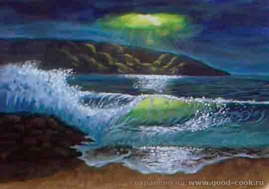 Море_Гуашь