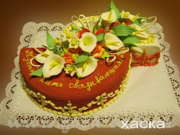 Оба торта очень красивые и аккуратные