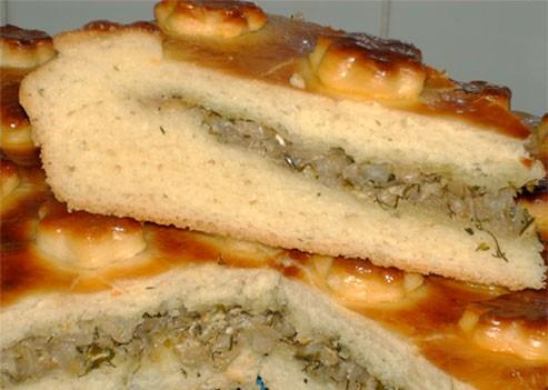 Девочки, угощайтесь - Пирог с капустой - 2