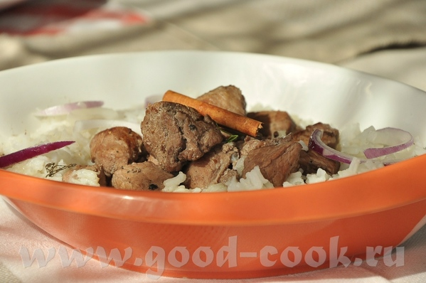 блюдо родом с Кипра- тушёная свинина с вином, корицей и кардамоном - 2