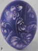 6 Яйцо с узором «Листья» 7 Яйцо с гравировкой 8 Яйцо, обвитое шнурками 9 Яйцо в клетку 10 Яйцо с уз... - 2