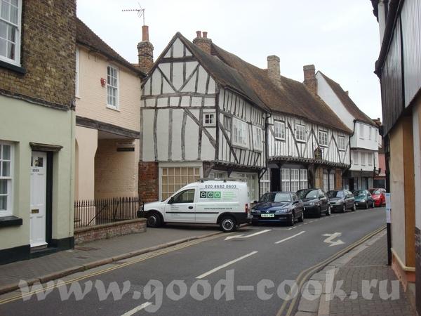 на юго-востоке Англии мы обнаружили небольшой городок с интересным названием Sandwich - 2
