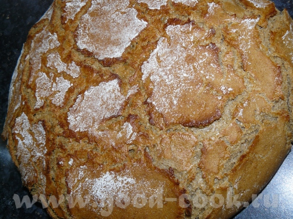 """Я выше писала, что оборачиваю хлеб при расстойке полотенцем, вот так это выглядит: Это убрала """"обод... - 3"""