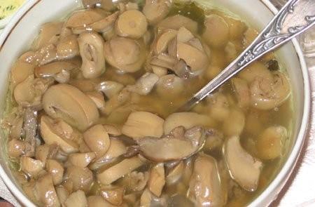 Вот что я готовила на первый седер: Бабка Маринованые грибы - 4