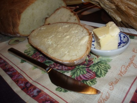 Вот и испекла таки я хлебушек, на рецепт которого давно уже облизывалась - 3