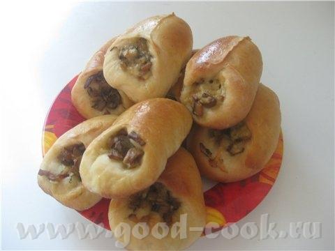 а мне захотелось пирожков открытые с грибами
