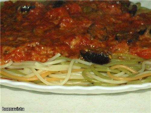 Спагетти по-сицилиански