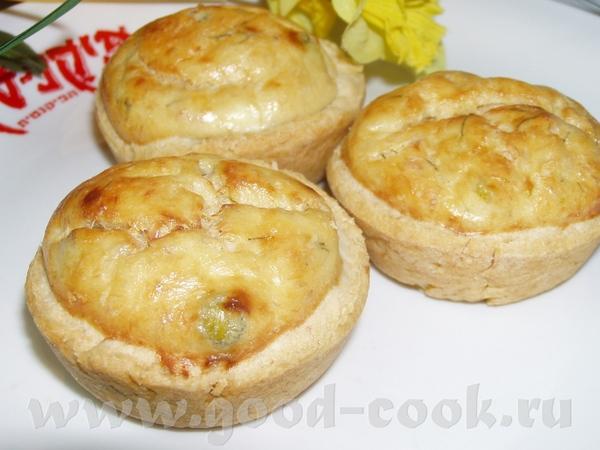 Тарталетки с тунцом и зеленым горошком Пирог с капустой,мясом и яйцами
