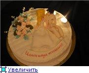 торт свадебный (жених и невеста съедобные) торт полянка смешариков - 6
