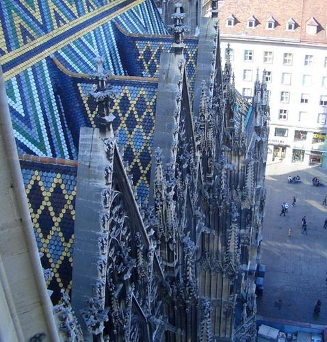 Хочу показать вам главную достопримечательность Вены- Собор Святого Стефана - 2