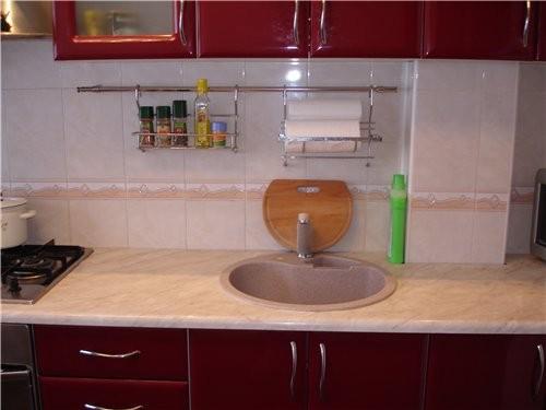 Какая кухонька у тебя красивая и светлая И мне нравиться когда балкон с кухни ( но у меня такого сч... - 4