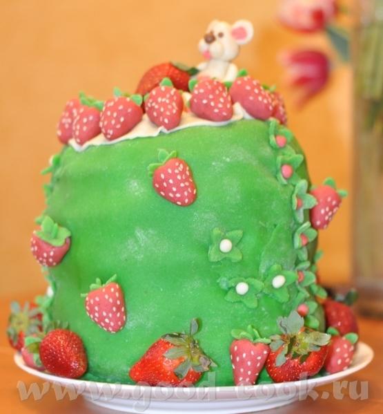Торт на ДР дочки (9 лет) - 3