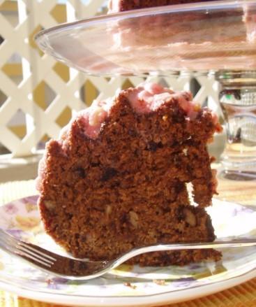 Интересный на вкус пирог,весь такой влажненький и ореховый - 2