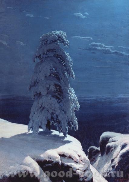 Картины Шишкина, которые находятся в Киевском Музее Русского Искусства на севере диком ручей в лесу...