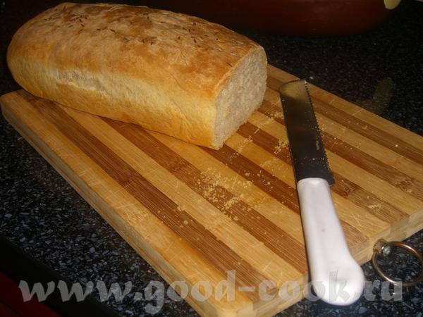 Американский бутербродный хлеб за 5 минут в день от anna100 ,тесто в ХП