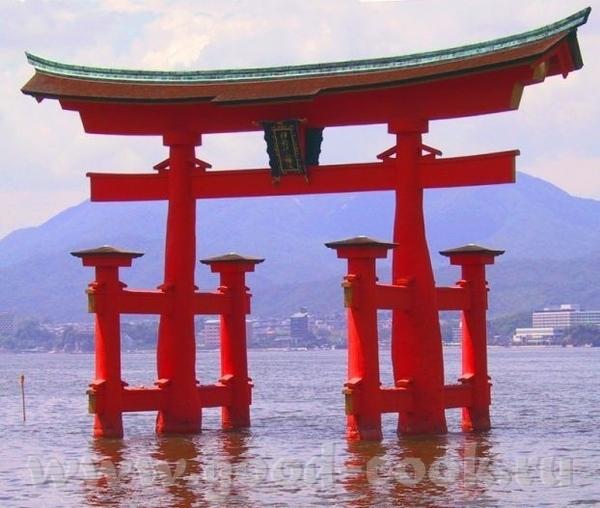 Думаю, что должно быть или Фудзи или сакура или суши или японские ворота Буду рада, если тебе что-т... - 4