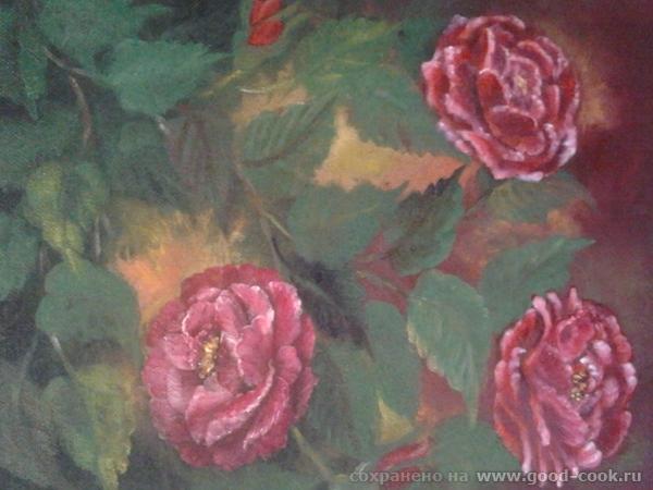 ....красные розы...