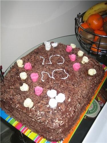 (Остатки от битого торта) А это я