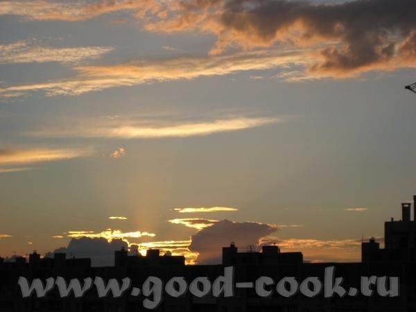 И у нас облака: урбанистический пейзаж А это - когда стирается грань между небом и морем