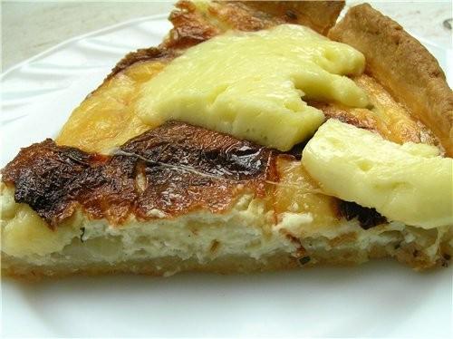 Свекольный киш Сырные шарики из заварного теста Сырный пирог с пряными травами Слоеный пирог с тунц... - 4