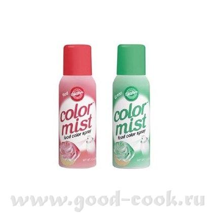 Gylliver самый эффективный и безвредный способ окрашивания мастики это пищевые краски в балончике,п...