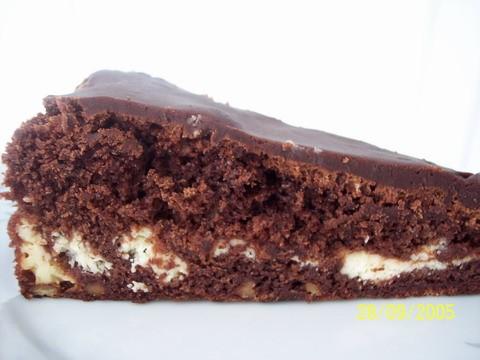Девочки вкусненько у вас у всех Я изпекла Шоколадные брауниз от Julchen и Luna07, девочки дали один...