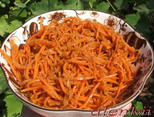 """Морковь по-корейски Кексики """"Янтарные"""" Яночка,спасибо"""