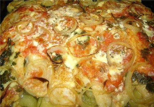 Filetes de lubina en horno (coсina Gallega) Филе койкана, запеченые в духовке рецепт нашла в реклам... - 4