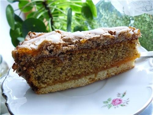 Для любителей ореховых тортов