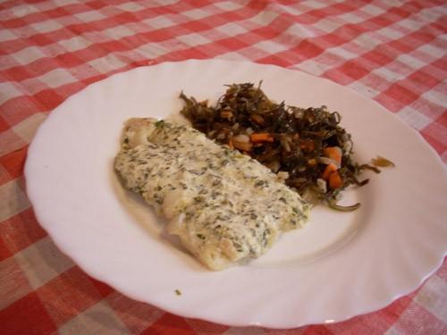 Шашлычки из лосося Треска, запечённая с хреном и сметаной Филе рыбы, запечённое с имбирём и карамбо... - 2