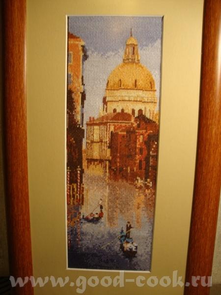 Это вышивка, венеция это тоже вышивка