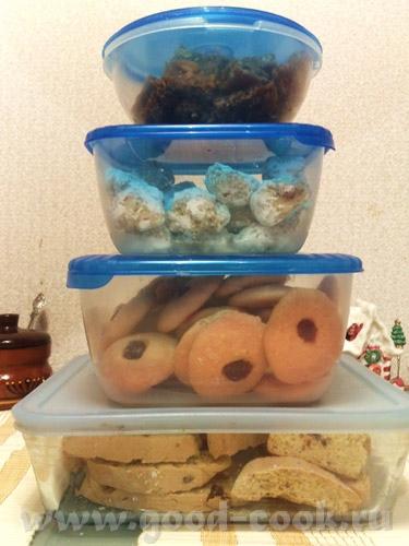 """Рождественская подарочная выпечка была следующей: печенье """"снежки"""" и желейное печенье от Ирины Jazz... - 3"""