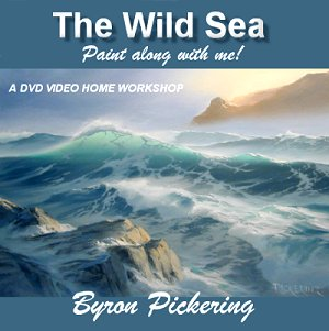 Byron Pickering Painting The wild sea Рисуем металл