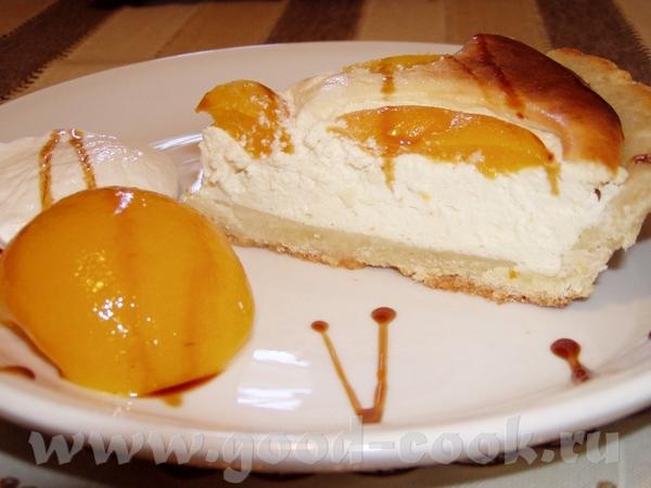 123Рецепт творожного пирога с персиками консервированными