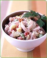 Свекольный (Beet) - рифлено порезаная маринованая свекла (консервы) с семенами тмина и сметанным со... - 3