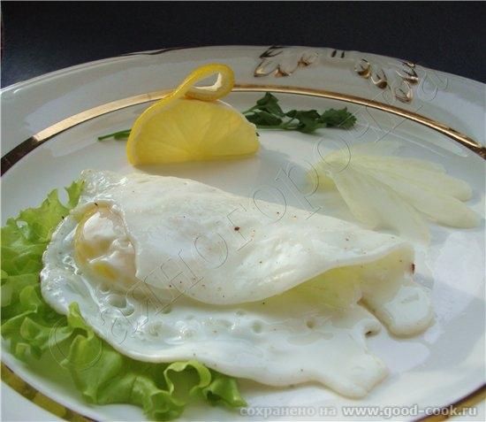 5/50 рецептов из яиц Яичная ракушка 1 яйцо сливочное масло соль смесь перца для украшения листья са...