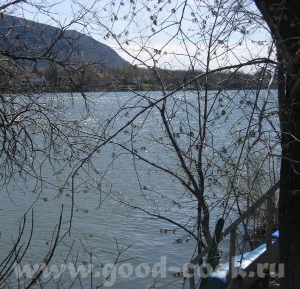 Ларочка очень красиво, небо такая синь и река, красота у вас