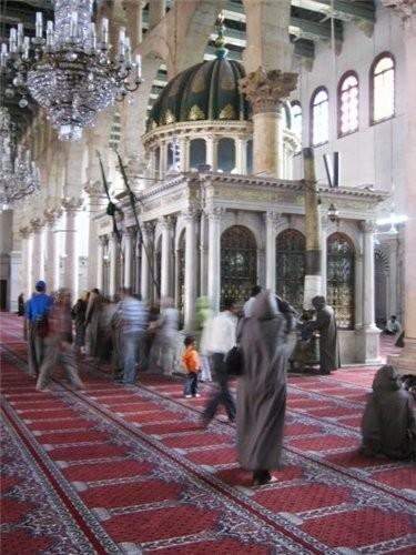 Мечеть внутри - 2