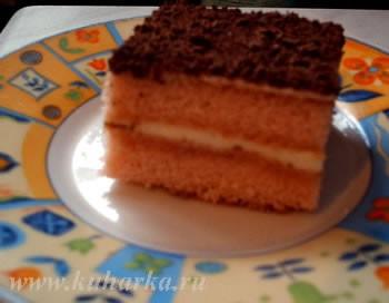 А я попробовала сделать торт из кисельного брикета Рецепт с кукинга - 2