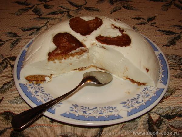 Творожно-пряничный десерт Вчера изобрела, получилось вкусно до умопомрачения, смолотили в один присест