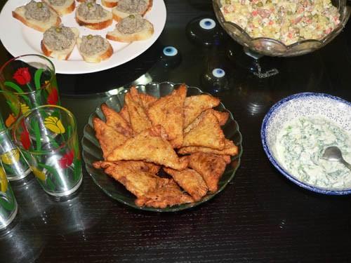 Оливье: Тайский Curry puff - 2