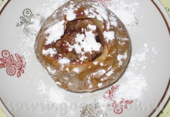 У меня был яблочный бум и очень пригодились блюда от Алисы (alisia): Яблочки-ароматные с клюквой и... - 3