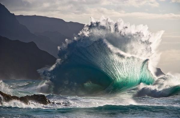 ЦИТАТА: Когда волновой режим правильный, появляется вот такая волна – результат столкновения отходя...