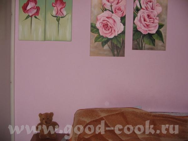вот обещанное это спальня в ней было свободных две стены вот так сейчас выгледят коридор на другой... - 2
