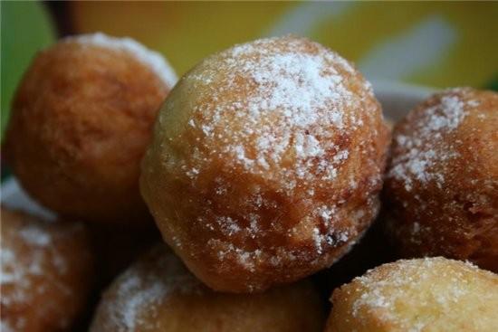 Пончики с ванилью (17-20 шт) 2 ст - 2